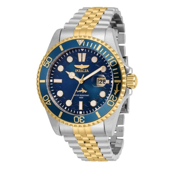 Invicta Other - Invicta Pro Diver Stainless Steel Blue Dial Watch